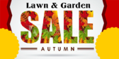Green Garden Seasonal Sale Banner