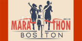Boston Marathon Vintage Banner