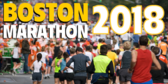 Boston Marathon Run Announcement Banner