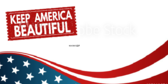Keep America Beautiful Announcement Banner