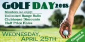 Golfers Day Tee Time Promotion