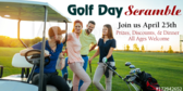 Golfers Day Event Banner