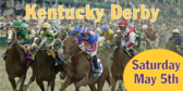 Kentucky Derby Event Announcement Banner