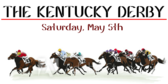Kentucky Derby Horses Racing Banner