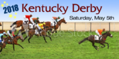 Kentucky Derby Out In Front Banner