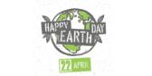 Globe Design Earth Day Celebration Banner