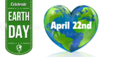 Earth Day I Heart Love The Earth Banner