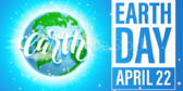 Earth Day I Care Banner