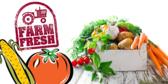 Farm Fresh Produce Ad Banner
