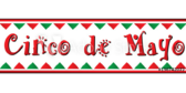 Cinco De Mayo Pennant Banner