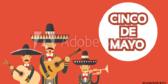 Cinco De Mayo Mariachi Banner