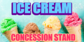 Ice Cream  Pop-cycle Concession