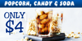 Movie Theater Concession Snack Bar Banner