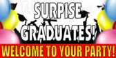 Graduation Surprise Party Banner