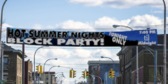 35' Over Street Block Party Banner