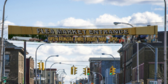 35' Over the Street Entrance Flea Market Banner