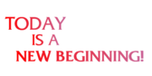 Encouragement Today Is A New Beginning Banner