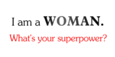 Women Encouragement Superpower Banner