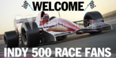 Viewing Race Indy 500 Party Banner