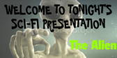 Viewing SCIFI Party Banner