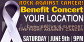 Concert Charity Rock Banner