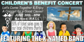 Benefit Concert For A Cause Banner