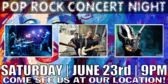 Concert Pop Rock Banner