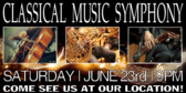 Concert Classical Music Banner
