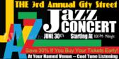 Concert Music Jazz Banner
