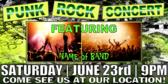 Concert Punk Rock Banner