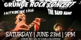 Concert Grunge Band Banner