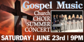 Concert Traditional Gospel Banner