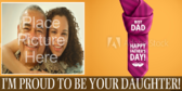 Proud To Be Your Daughter Banner