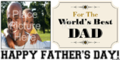 World's Best Dad Banner