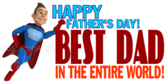 Best Dad In The World Banner