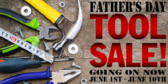 Father's Day Tool Sale Banner