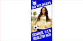 Vertical Women's Sports Banner