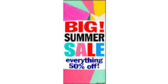 Vertical Big Summer Sale Banner