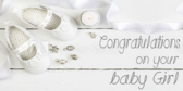 Baby Girl Shower Congratulations Banner