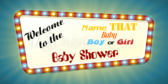 Name that Baby Boy or Girl Shower Banner