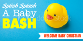 It's a Boy Rubber Duck Banner