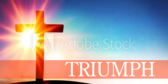 Stained Glass Series Triumph Praise Banner