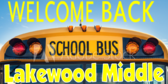 Welcome Students School Name Sign