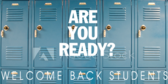 Welcome Students Are You Ready Sign