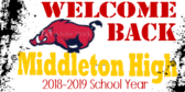 Welcome School Students Banner