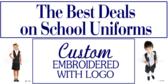 Back to School Custom Uniform Sale Banner