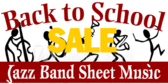 Back to School Sheet Music Sale Banner