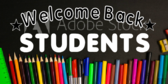 Welcome Back Star Students Banner