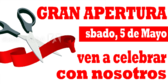 Grand Opening Spanish Language Banner