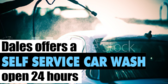 Car Wash Self Service Banner